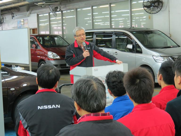 大昌貿易行汽車服務中心有限公司技術部高級經理湯國基博士工程師