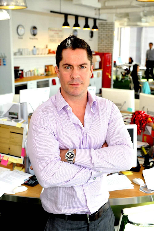 Alex Compton, Country Manager, Hong Kong & China, Spencer Ogden