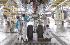 應徵飛機工程學員 須表現自信與學習熱誠
