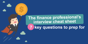 7 key interview questions for finance professionals (Infographic)