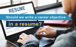 How to write a career objective in a resume