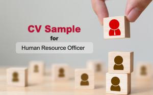 Resume-CV-sample-for-human-resource-officer