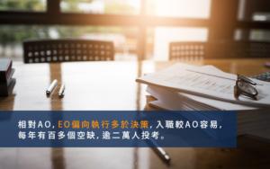 入職二十年 高級行政主任-EO-解構升職的階梯 起薪點三萬做到退休