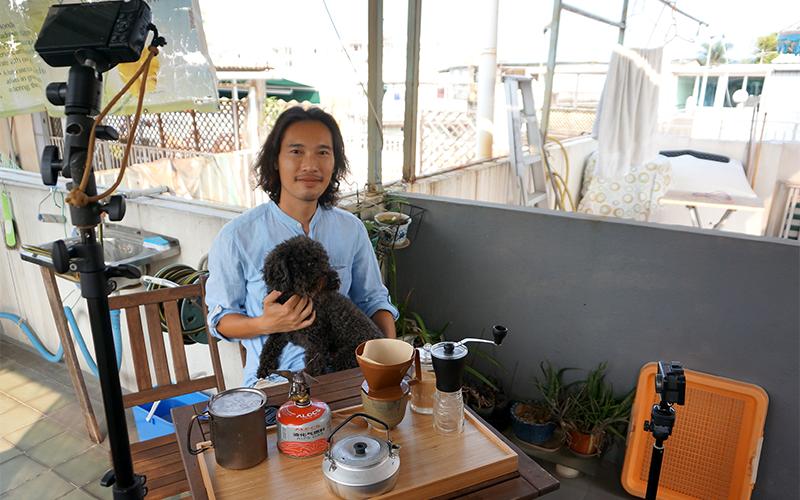 留家抗疫-戶外Youtuber也變陣-在家用酒精爐煮食-沖咖啡考應變能力-feature