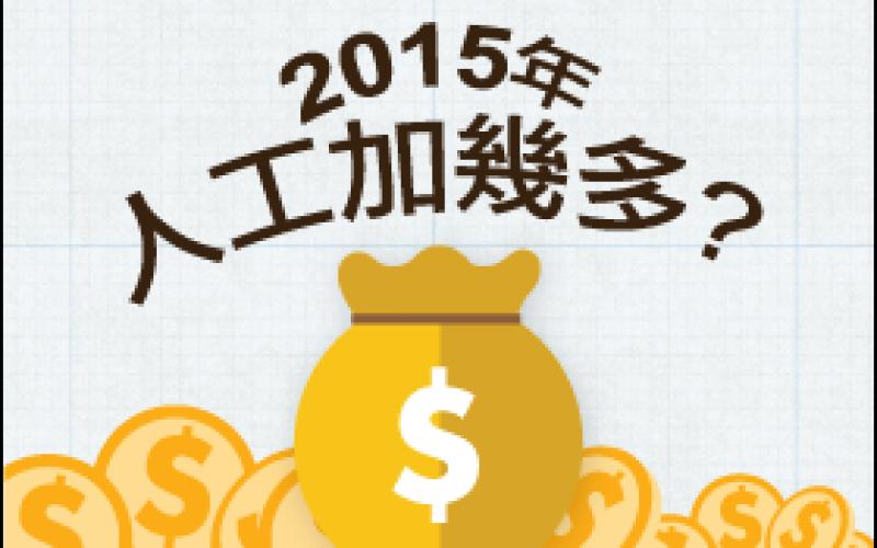 jobsDB 2015年薪酬調查