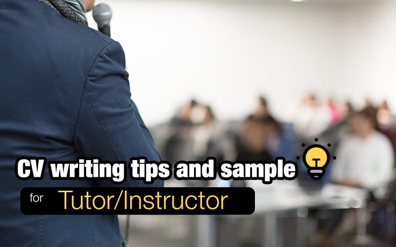 CV-resume-sample-tutor-instructor