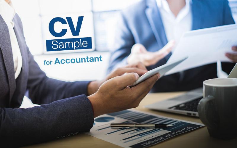 CV writing tips and sample for Accountant