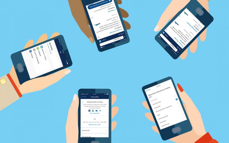 用jobsDB手機app搵工,AI幫你篩好至啱筍工