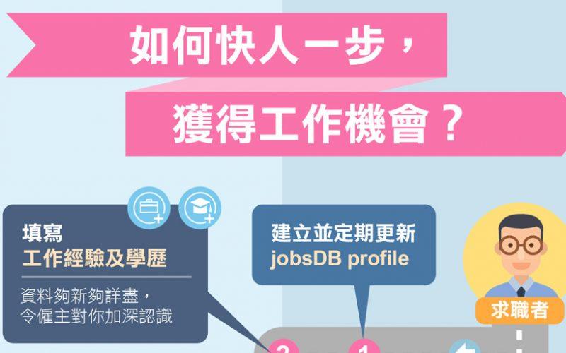 如何利用jobsDB Profile更快搵到好工