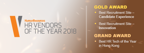 jobsDB wins the Grand Award and two Golds at the HR Vendors of the Year 2018