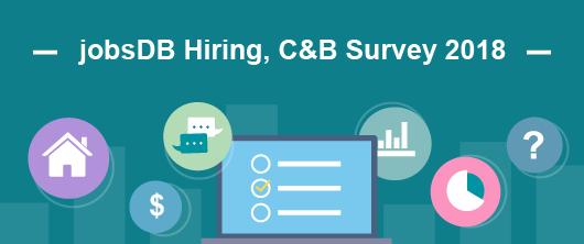 jobsDB Hiring, C&B Survey 2018