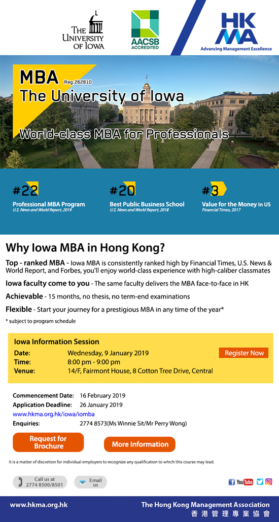 World class MBA for Professionals
