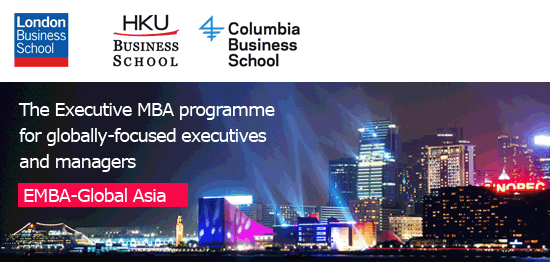 The Executive MBA programme for globally-focused executives and managers